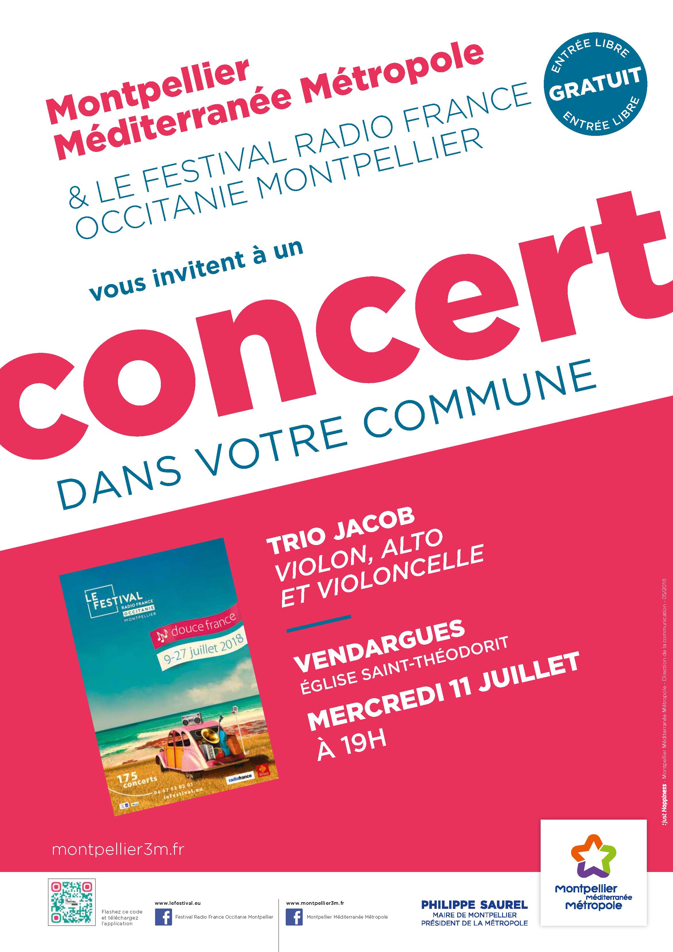 Festival Radio France Occitanie Montpellier | TRIO JACOB