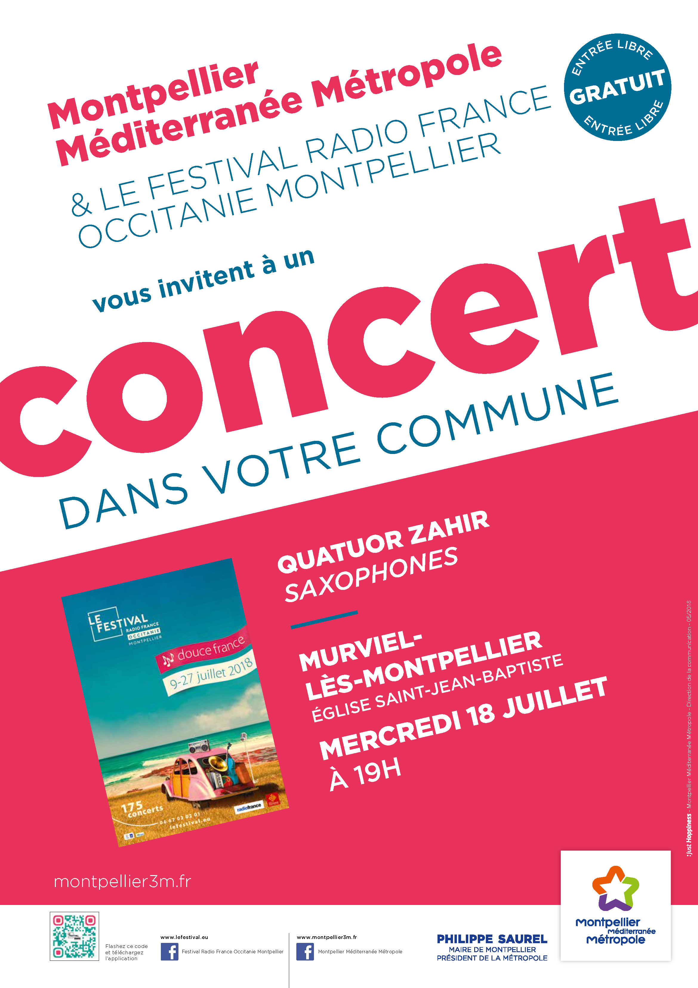 Festival Radio France Occitanie Montpellier   QUATUOR ZAHIR