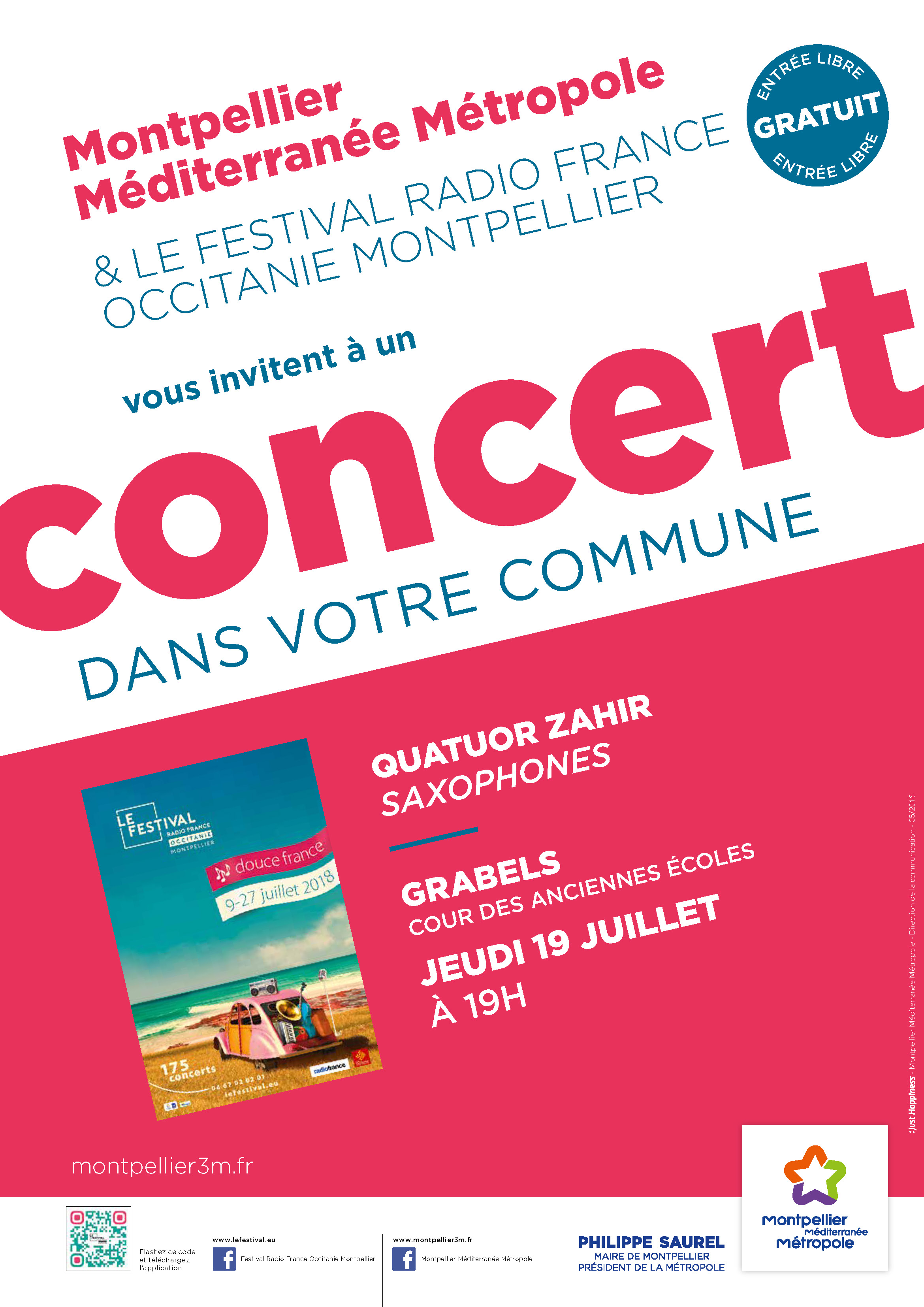 Festival Radio France Occitanie Montpellier | QUATUOR SAHIR