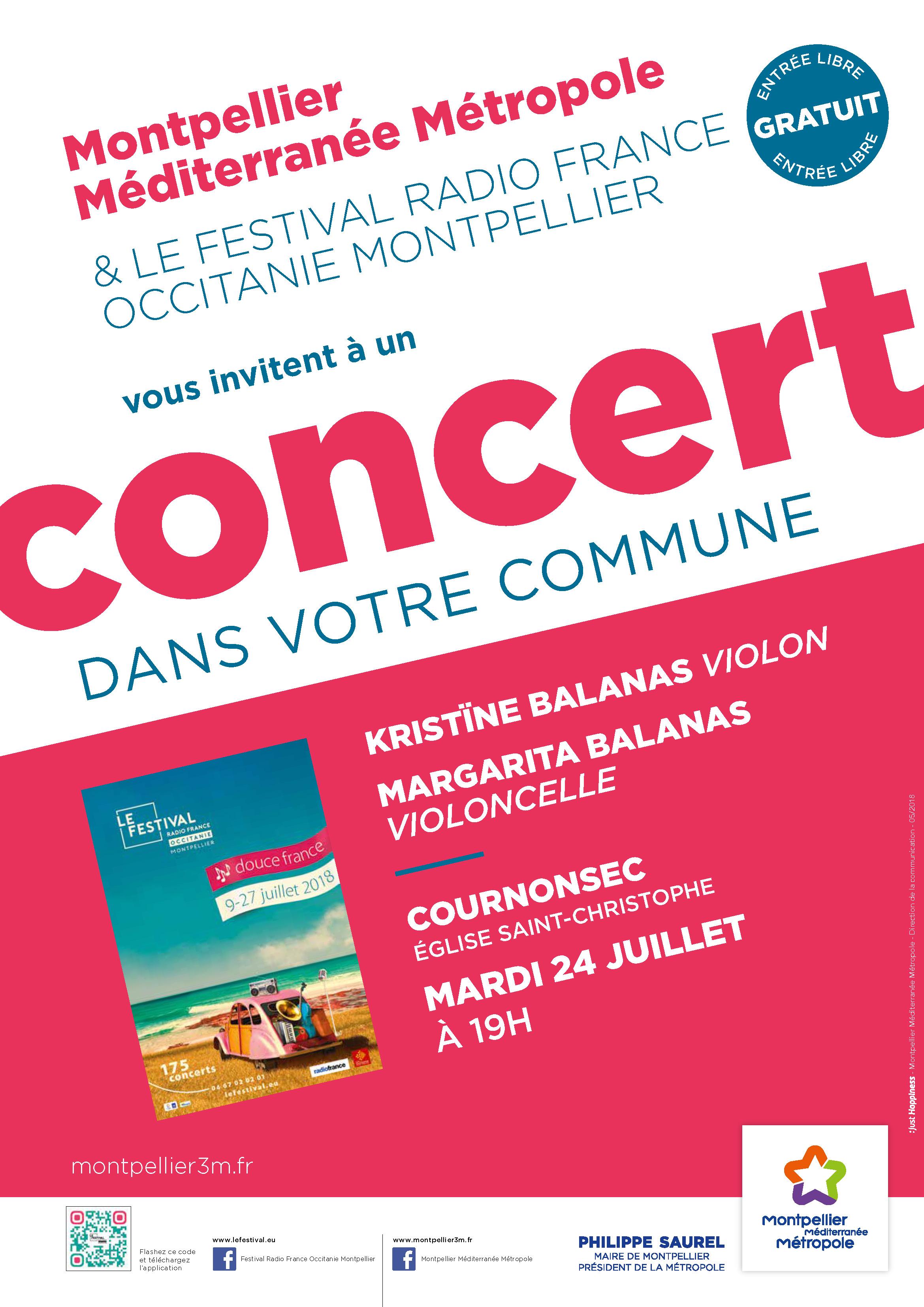Festival Radio France Occitanie Montpellier   KRISTÎNE BALANAS et MARGARITA BALANAS