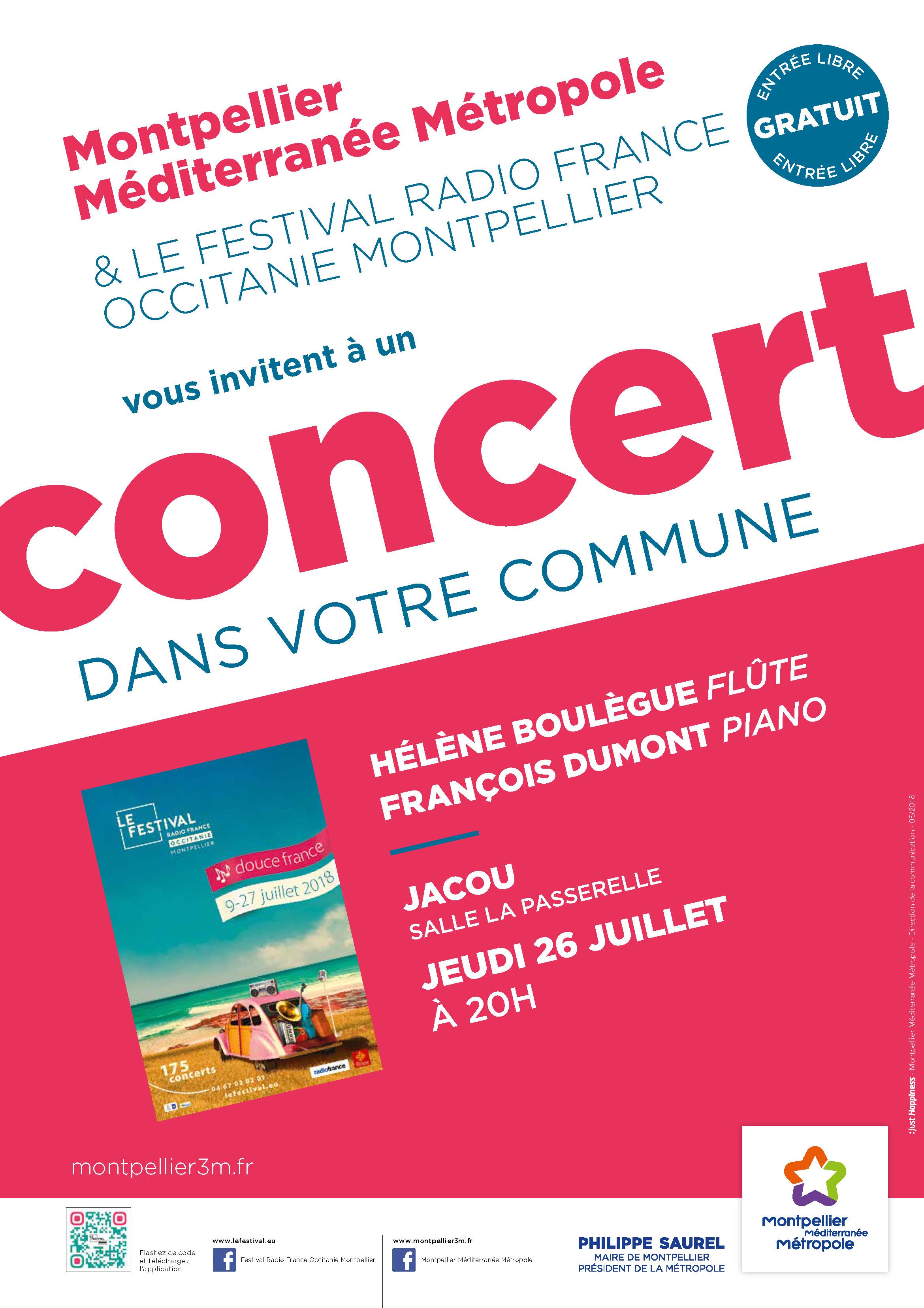 Festival Radio France Occitanie Montpellier | HÉLÈNE BOULÈGUE et FRANÇOIS DUMONT