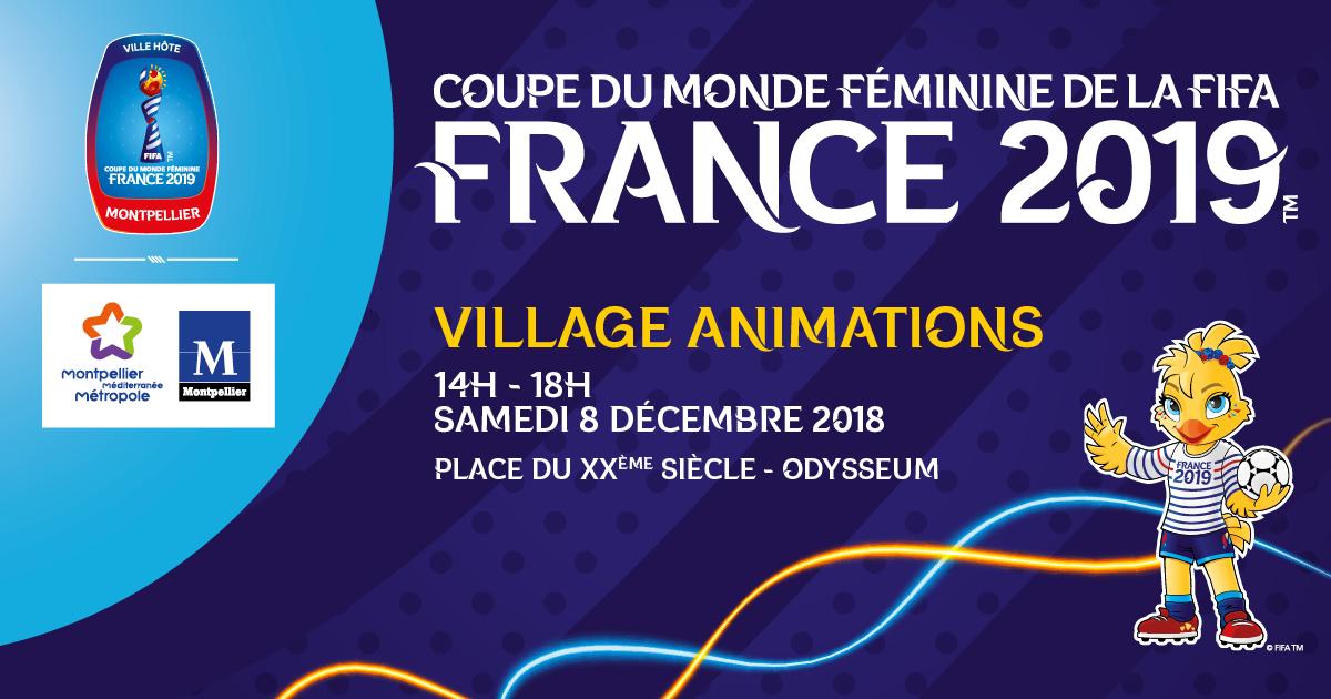 Animations gratuites Coupe du monde féminine de la FIFA France 2019