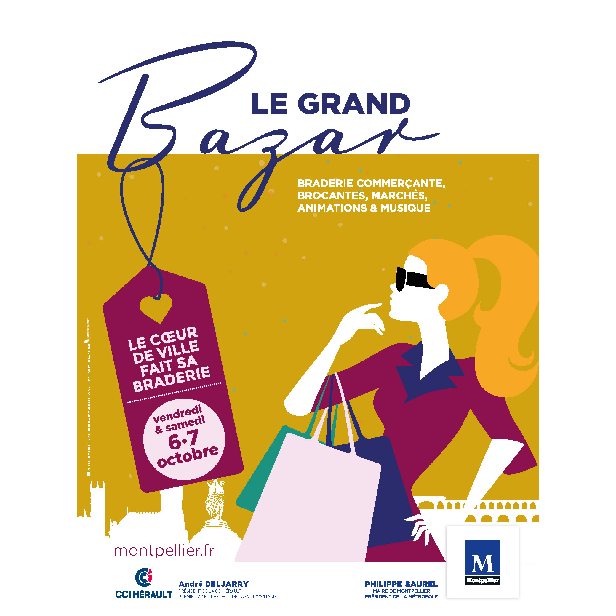 Le grand bazar montpellier m diterran e m tropole for Chambre de commerce de montpellier