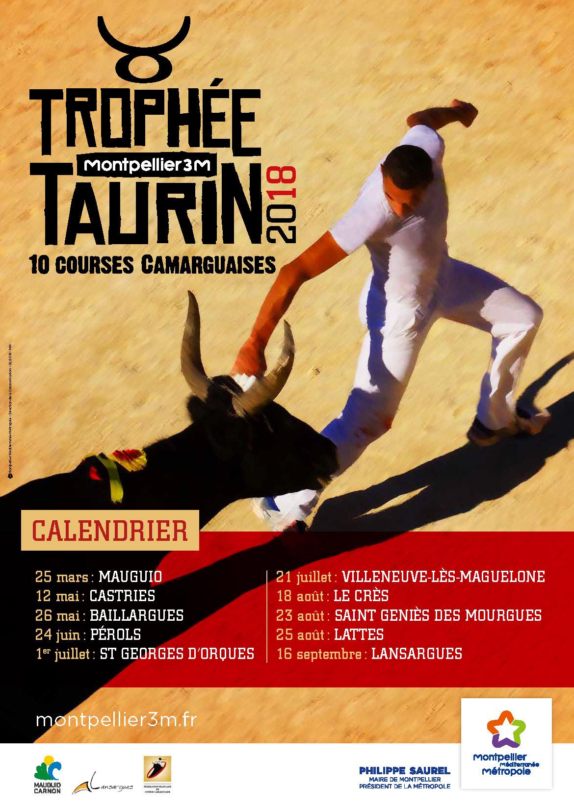 Trophée taurin 2018 - Le Crès