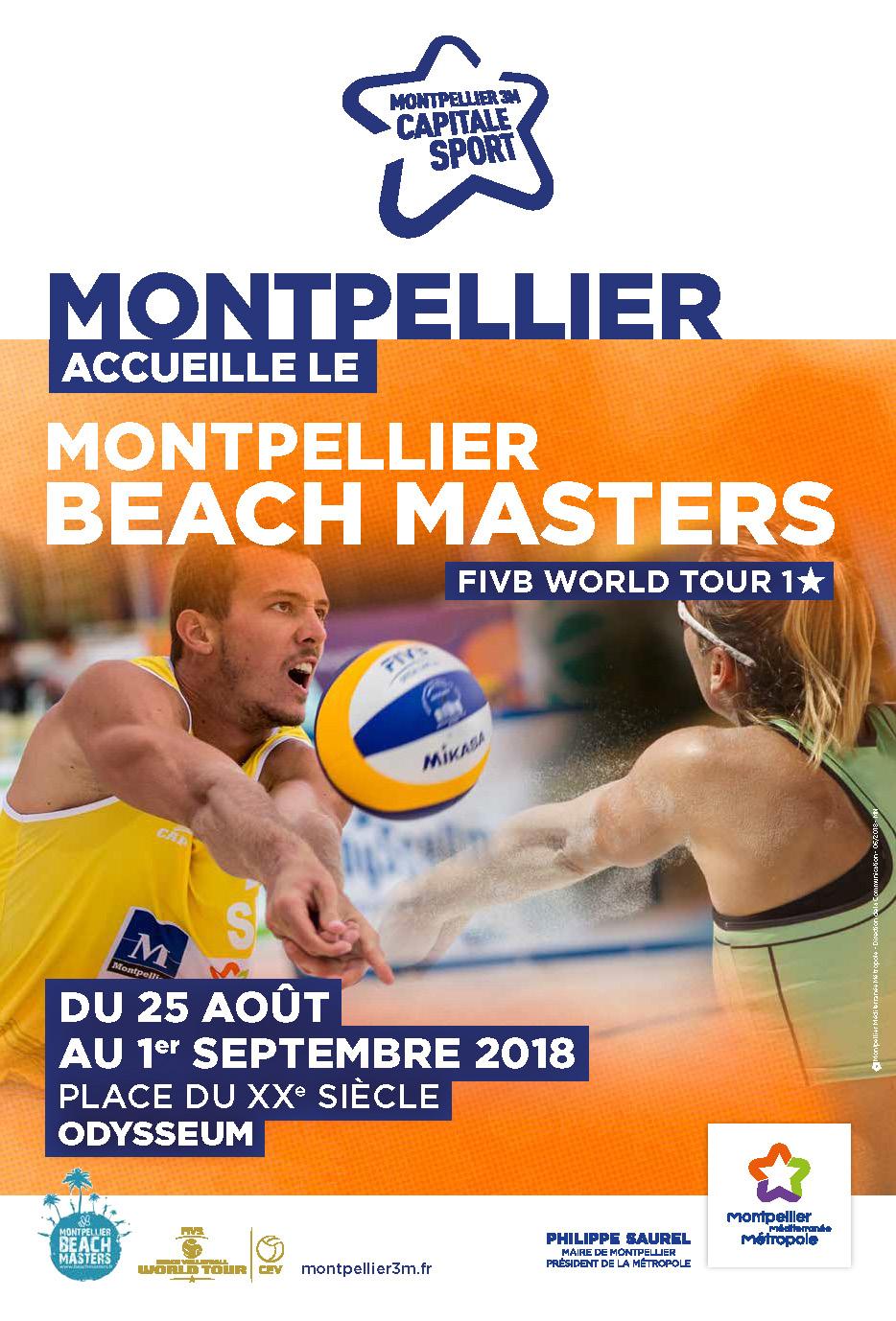 Montpellier Beach Masters