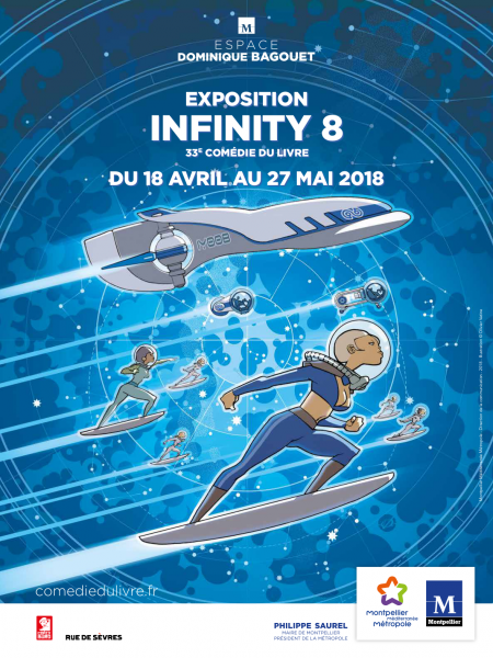Affiche exposition Infinity 8