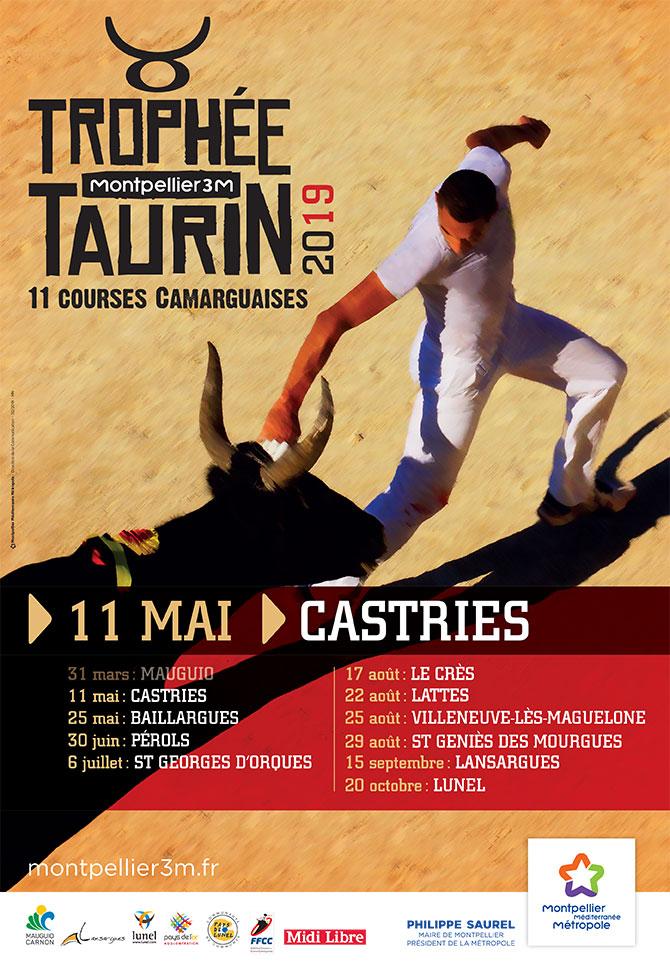 Trophée taurin Castries