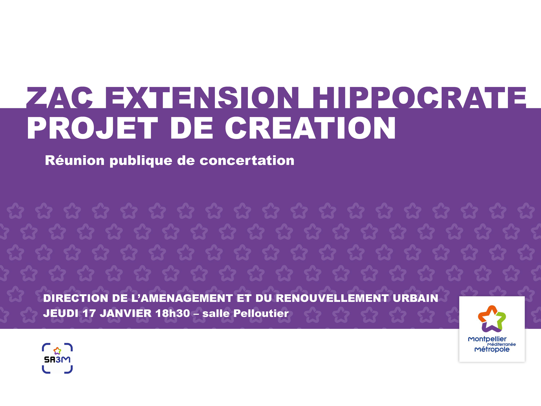 Réunion publique Hippocrate