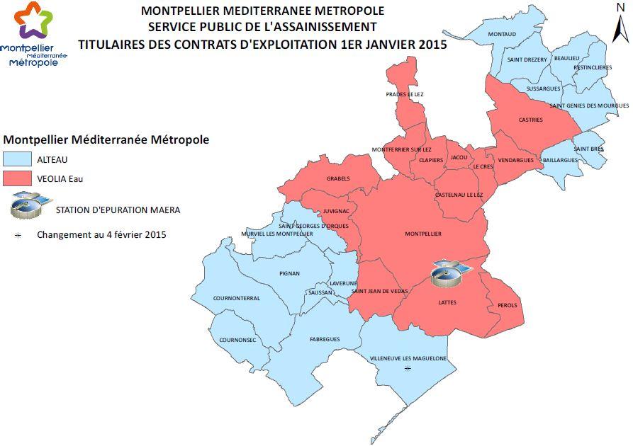 Assainissement Montpellier Mediterranee Metropole