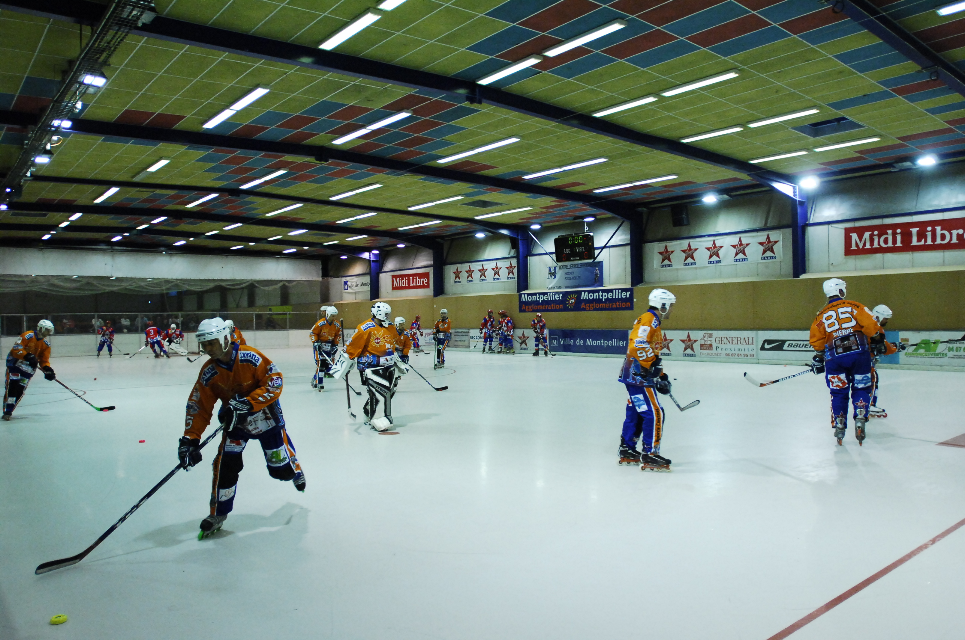 règles hockey glace