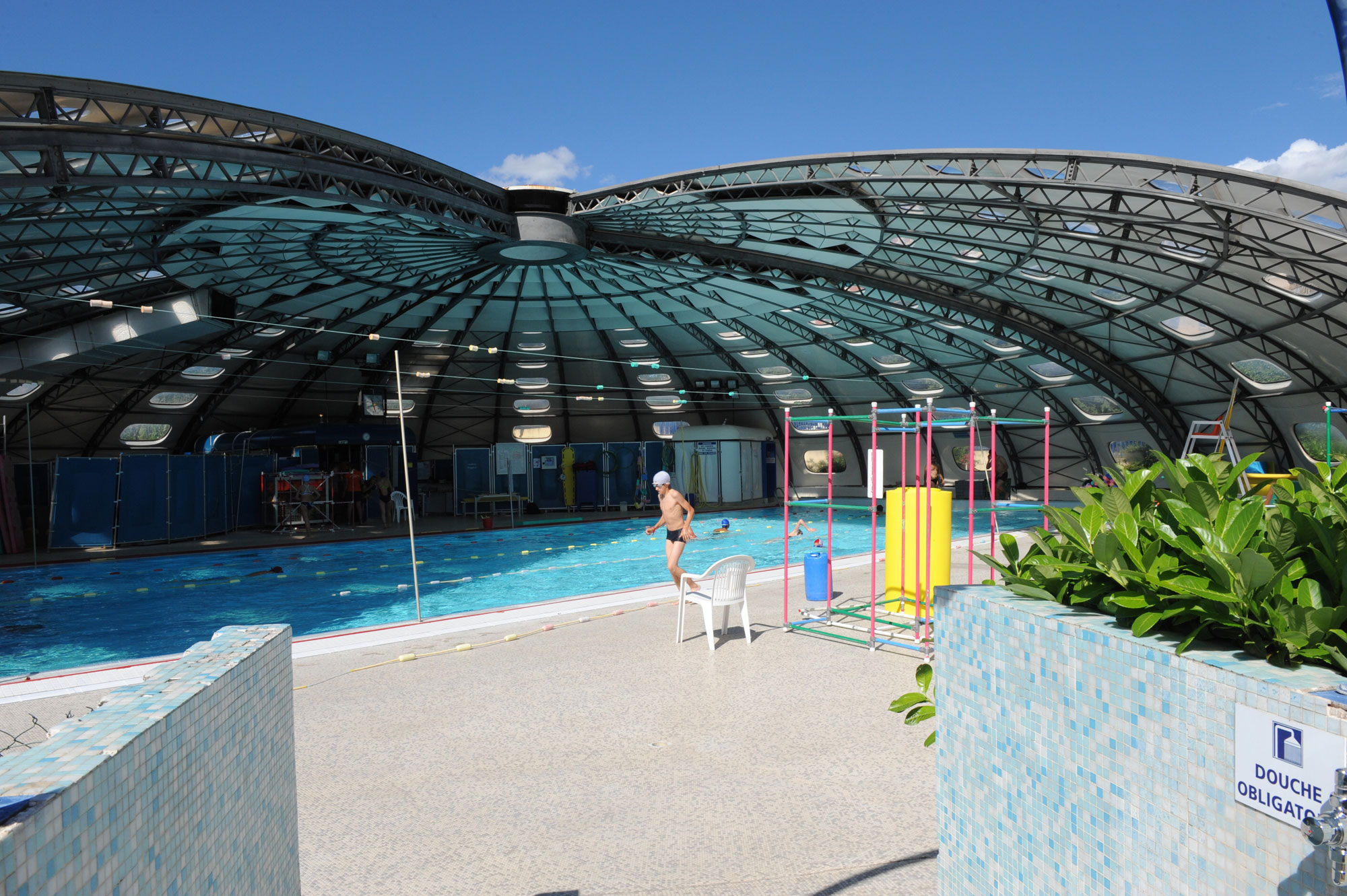 Piscine jean taris for Piscine saint martin d heres