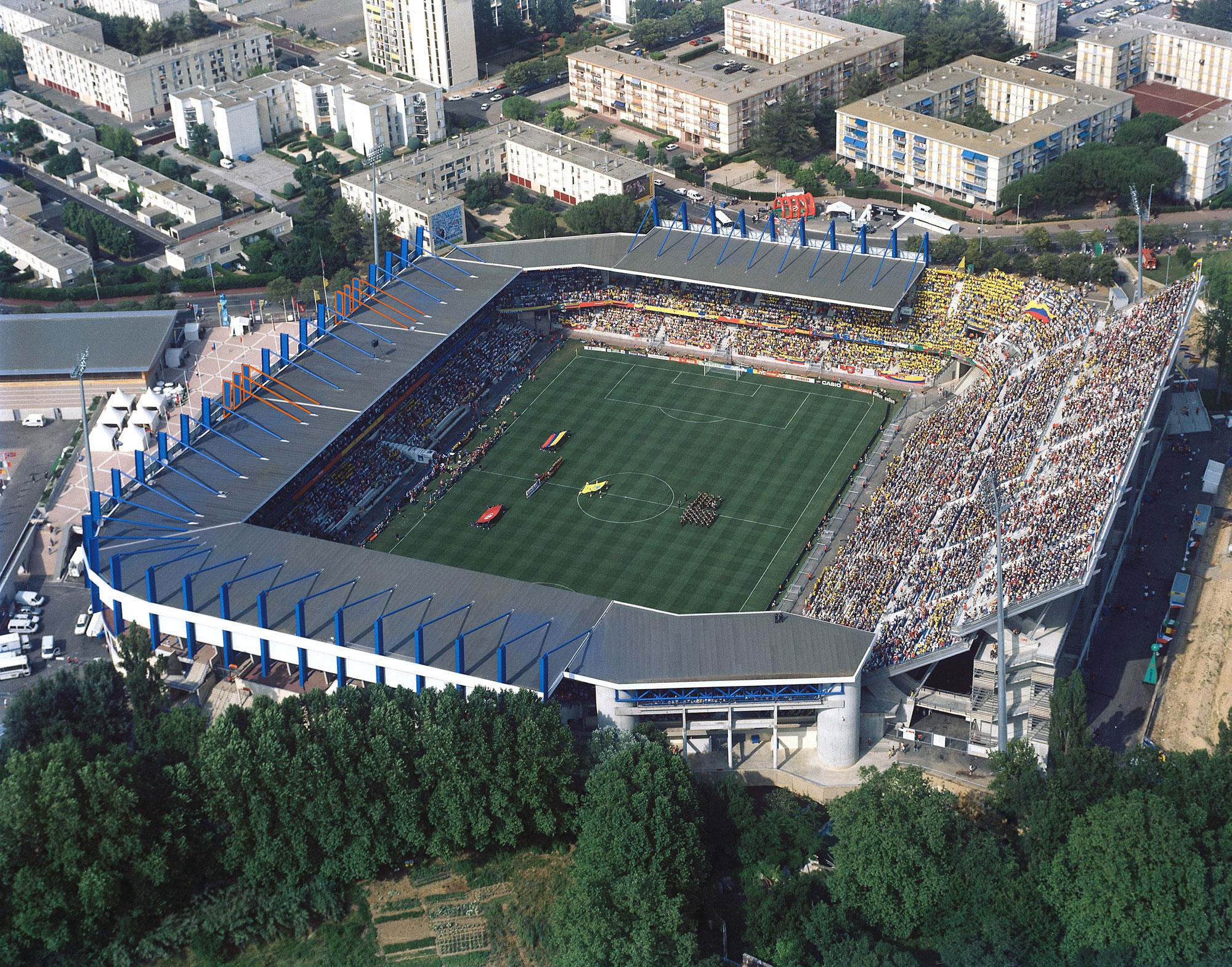"""Résultat de recherche d'images pour """"Stade de la mosson"""""""