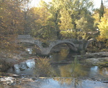Juvignac - le pont roman du XIIè siècle sur la Mosson