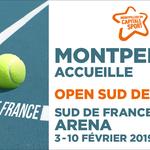Open Sud de France 2019