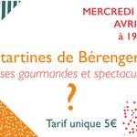 LES TARTINES DE BÉRENGER #7