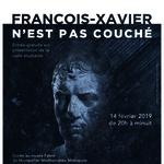 François-Xavier n'est pas couché