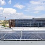 BIC - Visite de la toiture équipée de panneaux photovoltaïques