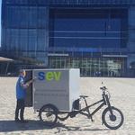 Présentation de véhicules utilitaires et triporteurs électriques
