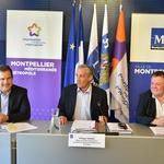 Philippe SAUREL, André DELJARRY et Christian POUJOL présente le plan d'actions