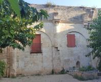 Castries - Détail de l'ancienne église romane du XIe siècle
