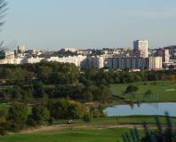 Juvignac - le golf et le quartier de la Paillade à Montpellier