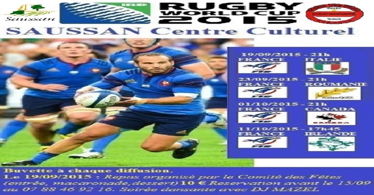 Diffusion du match france roumanie coupe du monde de rugby montpellier m diterran e m tropole - Rugby diffusion coupe du monde ...