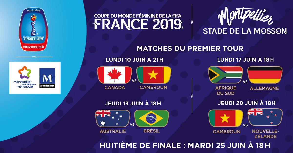 Calendrier Fifa 2019.Coupe Du Monde Feminine De La Fifa France 2019
