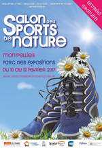 Affiche du Salon des sports de nature de Montpellier 2017