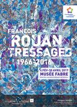 François Rouan, Tressages 1966-2016