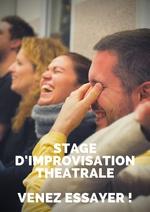 Stage d'improvisation théâtrale