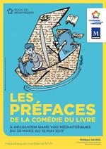 Affiche préfaces de la Comédie du Livre 2017