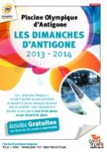 Piscine Olympique d'Antigone : un dimanche autour du cirque