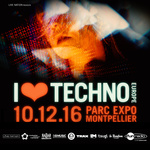 Affiche I love techno 2016