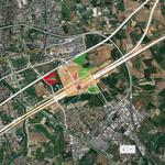 Plan d'implantation du futur stade de Montpellier