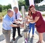 Alimentation en eau potable de Sussargues : inauguration des travaux