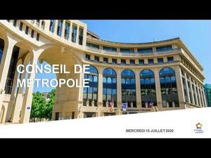 Embedded thumbnail for Conseil de Métropole du 15 juillet 2020