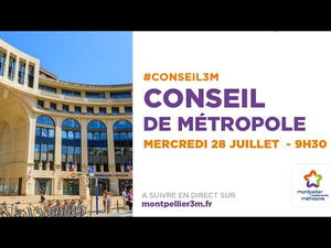 Embedded thumbnail for Conseil de Métropole du 28 juillet 2021