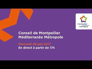 Embedded thumbnail for Conseil de Métropole du 28 juin 2017