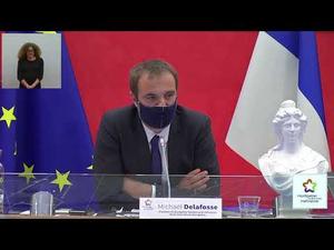 Embedded thumbnail for Conseil de Métropole du 17 décembre 2020