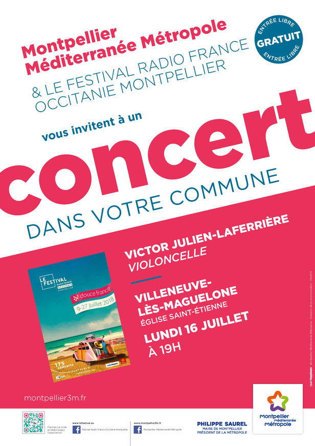 Festival Radio France Occitanie Montpellier | VICTOR JULIEN-LAFERRIÈRE