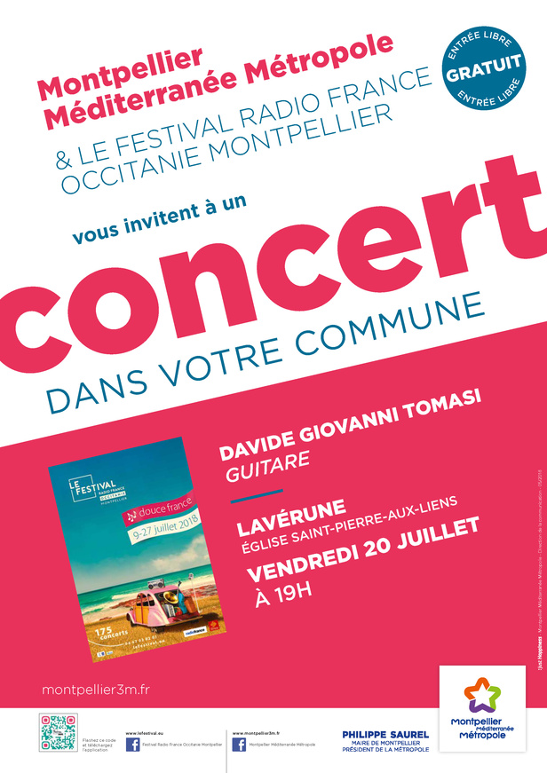 Festival Radio France Occitanie Montpellier | DAVIDE GIOVANNI TOMASI