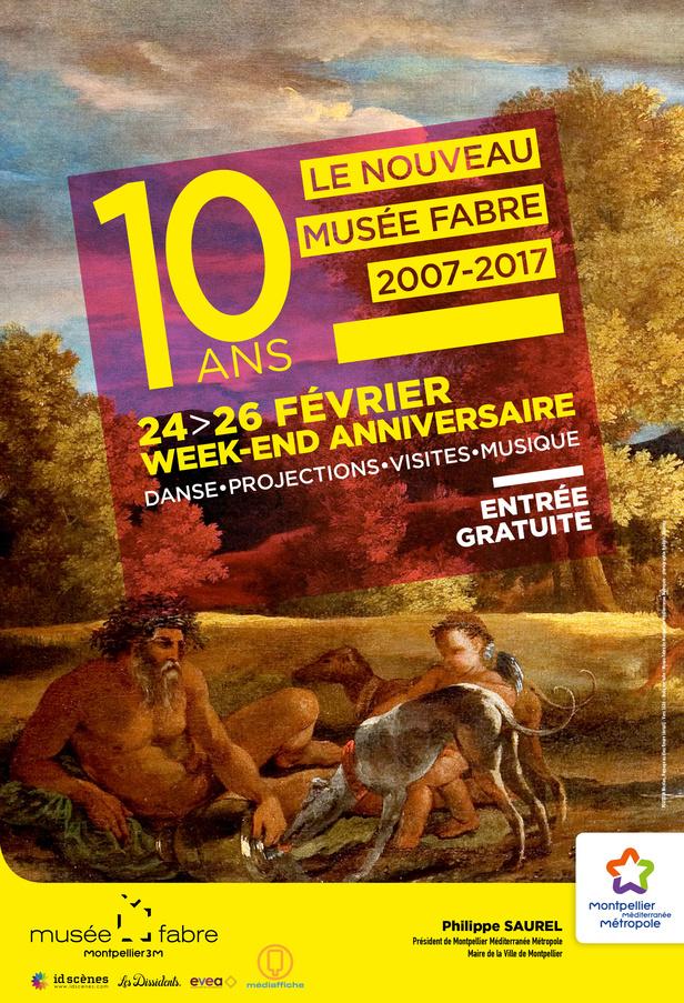 Week-end anniversaire festif au Musée Fabre