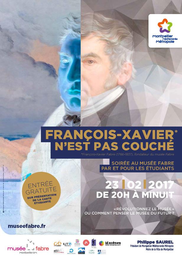 Nocturne étudiante Musée Fabre Montpellier