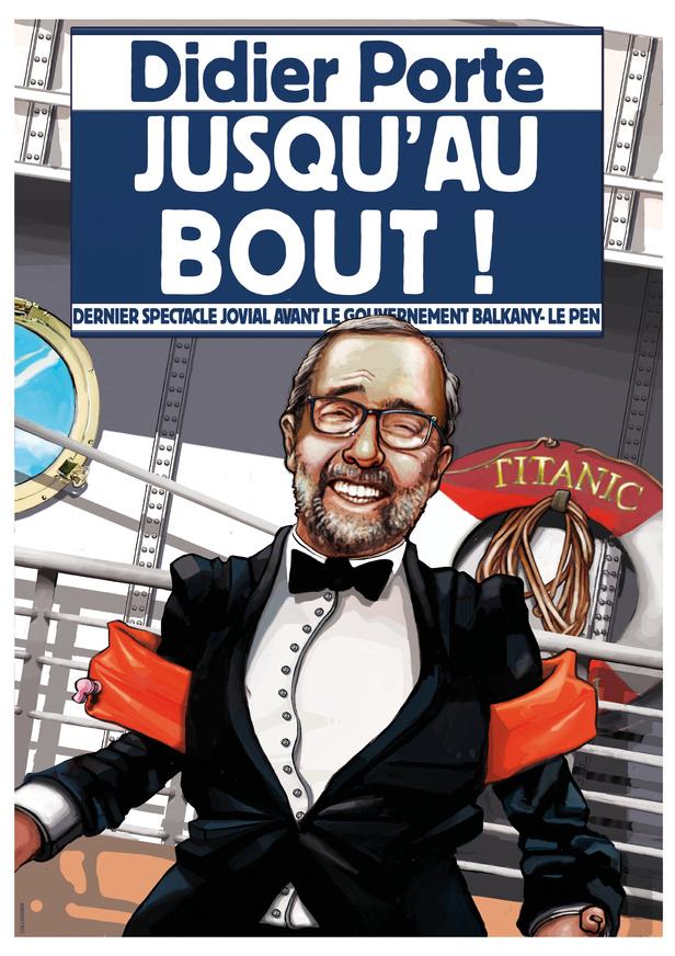 Affiche spectacle Didier Porte