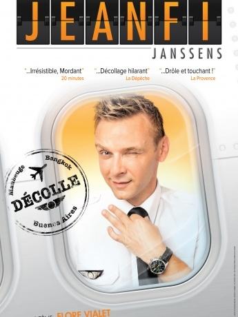 Affiche spectacle JeanFi Janssens