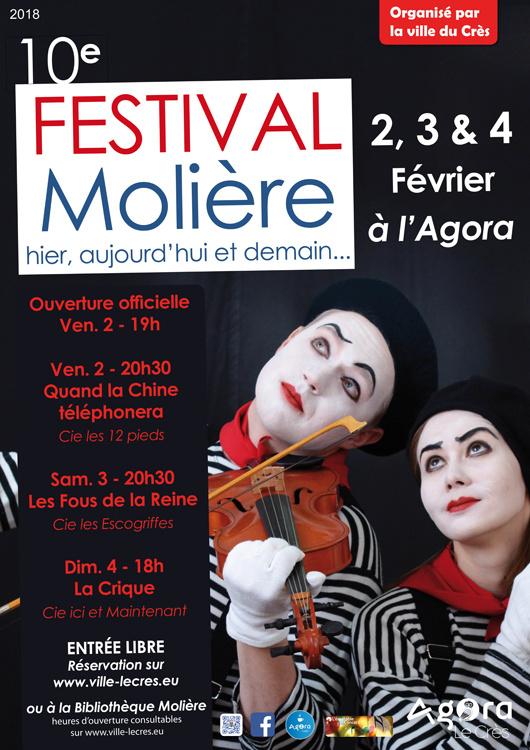 Festival Moliere Agora Le Crès