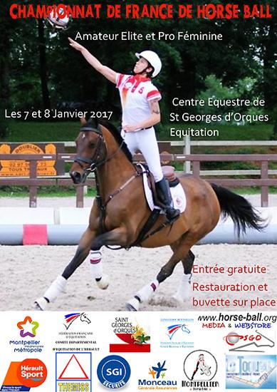 Championnat de France de Horse Ball