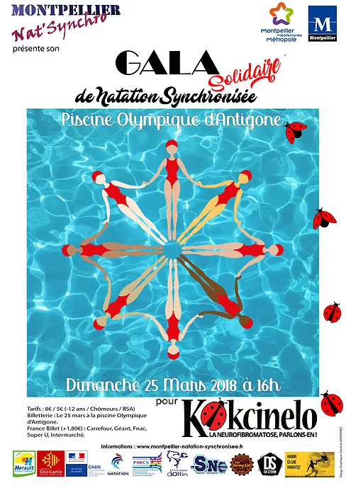 gala solidaire de natation synchronisee montpellier With piscine olympique antigone montpellier 13 gala solidaire de natation synchronisee montpellier