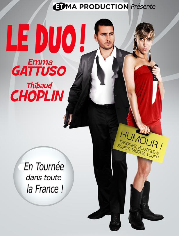 Affiche Emma Gattuso & Thibaud Choplin - LE DUO