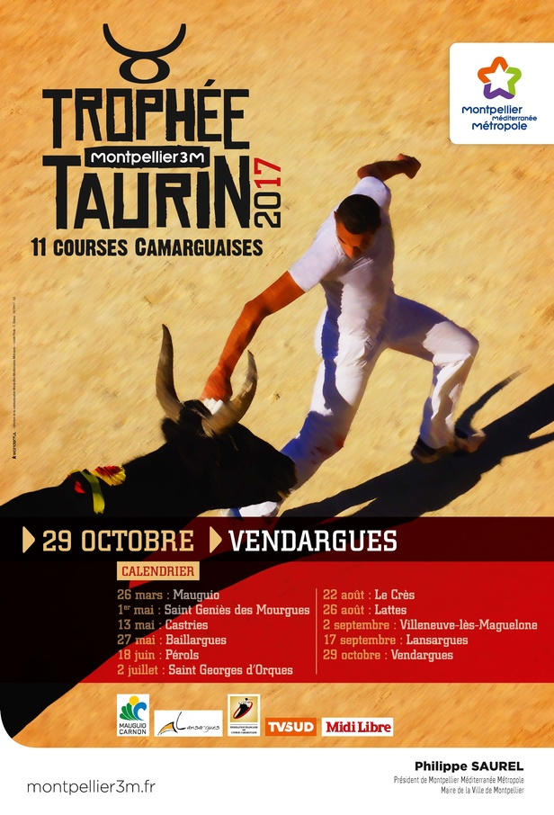 Trophée taurin Montpellier 3M Vendargues